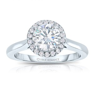 This New Year Dive into the world of Halo Engagement Ring