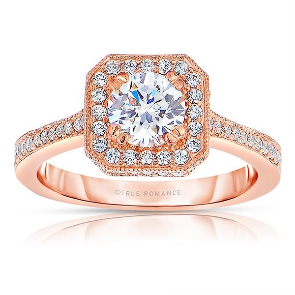 Rose Gold Engagement Ring: Trending Wedding Jewelry