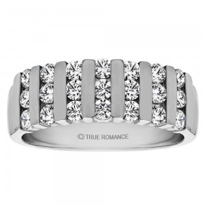 Embrace your Valentine & Give her Diamond Eternity Band