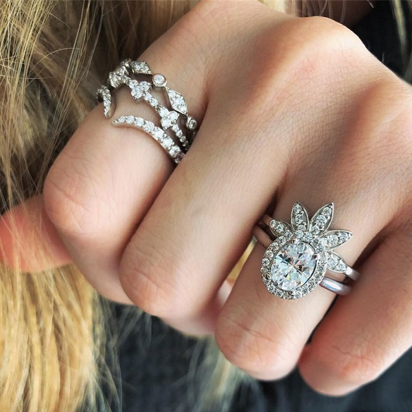 Antique Vintage Style Engagement Rings