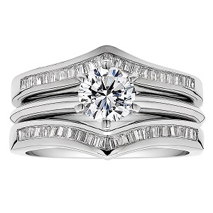 explore the popular styles for wedding ring guards - Wedding Ring Guards