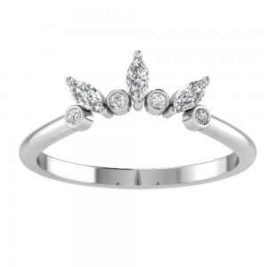 Sunburst Alternating Tiara Band