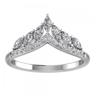 Snow Queen Multi Stone Tiara Band