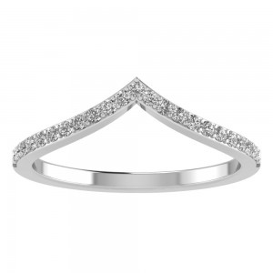 Mini Diamond Chevron Tiara Band