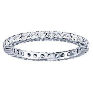1/2 ct (approx) Round diamond eternity wedding band