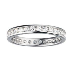32 DIAMONDS WEDDING MACHINE SET 1.05 ct ROUND DIAMOND ETERNITY WEDDING BAND