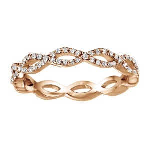 Eternity Stacking Rings