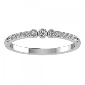 Vintage Pave Diamond Band