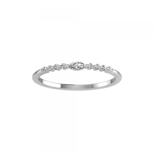 Classic Round and Marquise Tiara Band