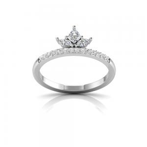 Three Stone Marquise Crown